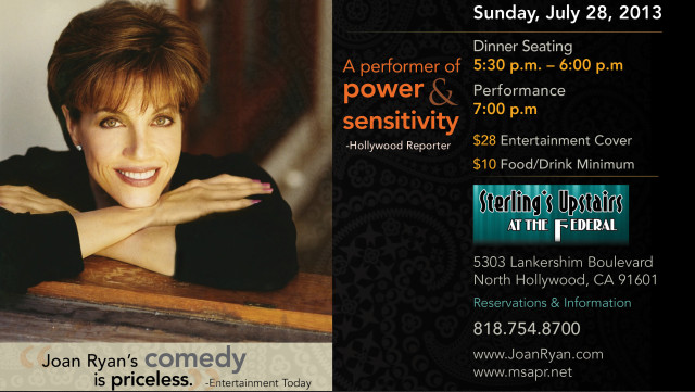 Joan is a fantastic talent, check out her show.