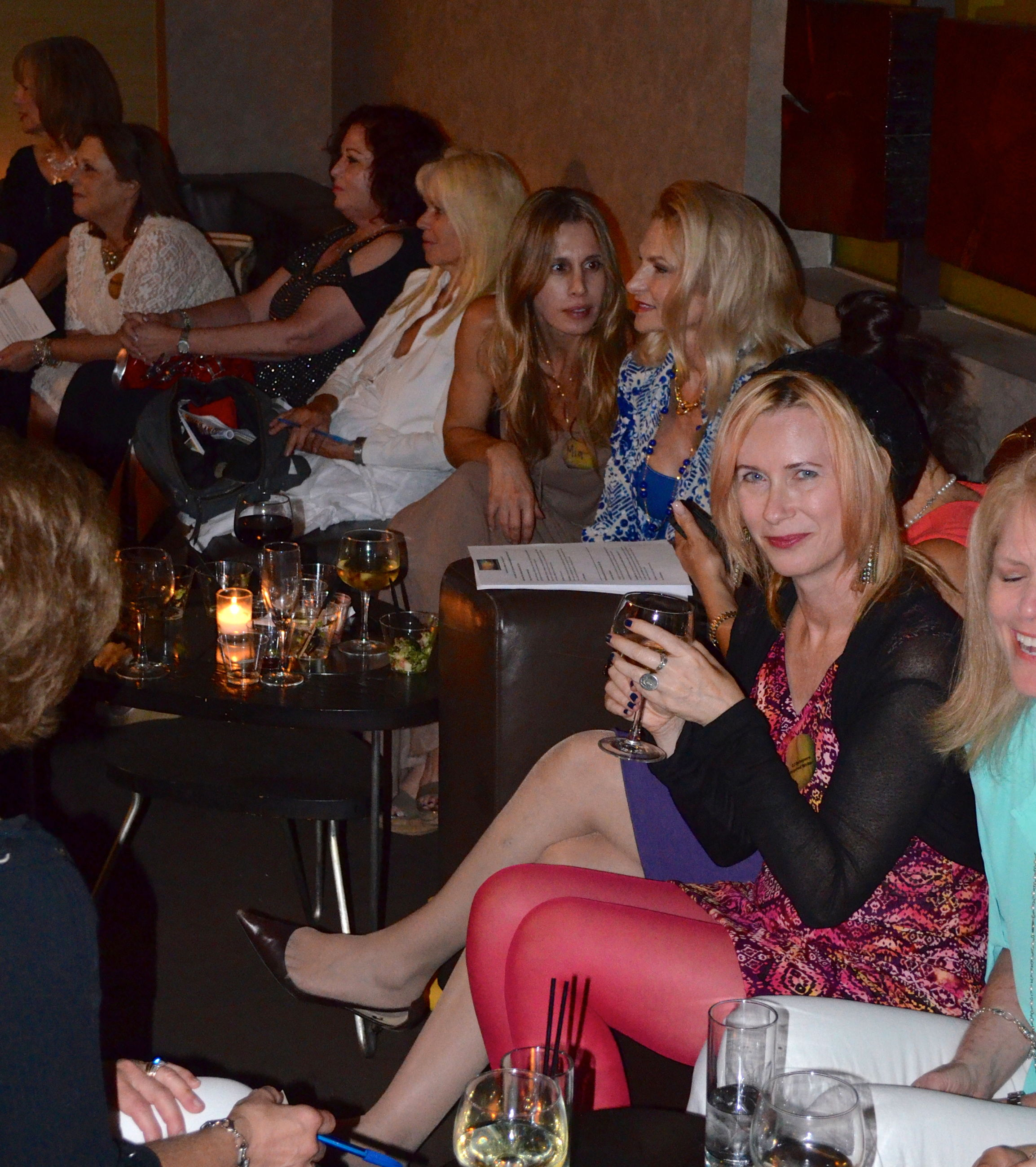 """Wine Women and Chocolate   &   The Ageless Beauty Report  Present  """"Women with a Purpose""""  Salon"""