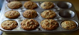 Oatmeal muffins…with chocolate chips