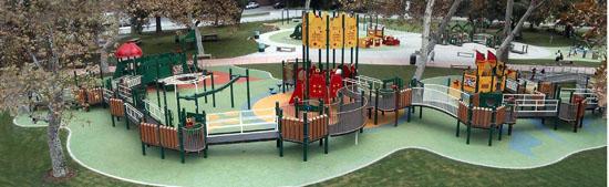 Shane's Inspiration's 50th playground opened in Studio City Ca.