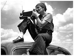 One of the preeminent and pioneering documentary photographers of the 20th century, Dorothea Lang.