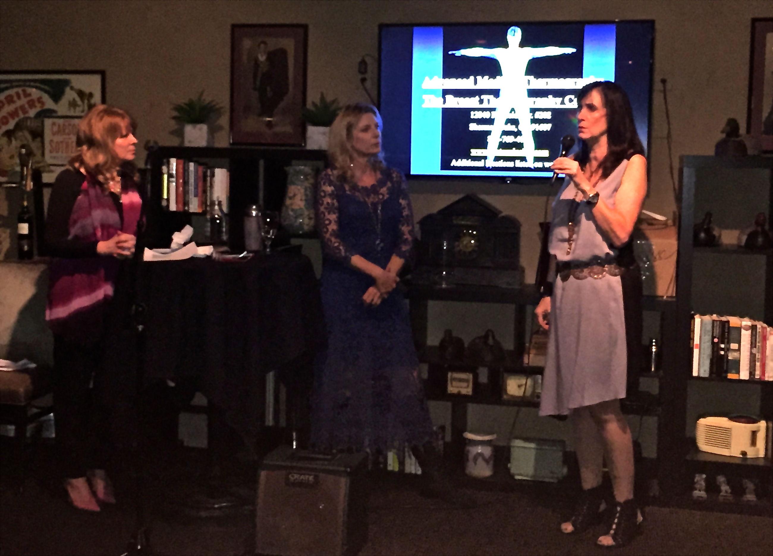 A Brilliant Night, Women with a Purpose Salon